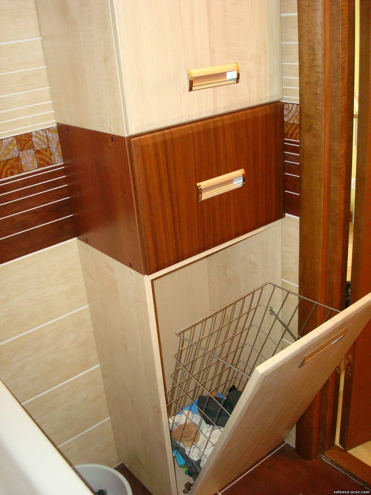 Для ванной шкафчики своими руками